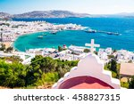 Panoramic View Of The Mykonos...