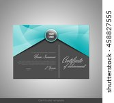 certificate of achievement ... | Shutterstock .eps vector #458827555