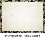 white background with a frame... | Shutterstock . vector #458838055