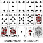 Poker Cards Club Set Two Color...