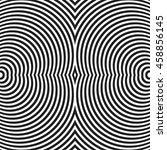 circular  radiating lines ... | Shutterstock . vector #458856145