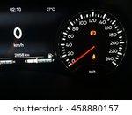 modern car speedometer | Shutterstock . vector #458880157