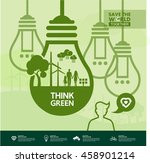 think green together. | Shutterstock .eps vector #458901214