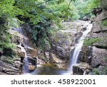 rock valley landscape | Shutterstock . vector #458922001