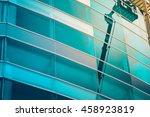 commercial building exterior... | Shutterstock . vector #458923819