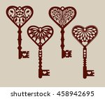 collection of templates of... | Shutterstock .eps vector #458942695