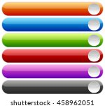 set of buttons or banners with...