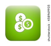coins icon | Shutterstock .eps vector #458969935