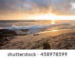 Sunset In Big Island  Hawaii