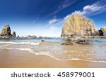 Cannon Beach At Oregon Coast
