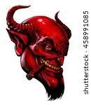 Devil Head With Cigar Demon ...
