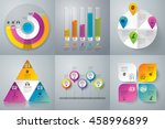 infographic design vector and... | Shutterstock .eps vector #458996899