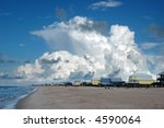 beach houses in gulf shores ... | Shutterstock . vector #4590064