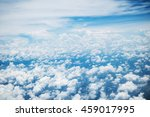 blue sky with clouds background | Shutterstock . vector #459017995