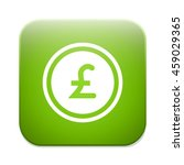 pound sign icon. gbp currency...   Shutterstock .eps vector #459029365