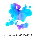 abstract 3d blue and purple... | Shutterstock . vector #459044917