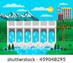 stock vector illustration of... | Shutterstock .eps vector #459048295