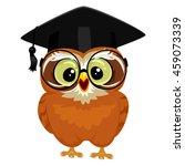 vector illustration of an owl... | Shutterstock .eps vector #459073339