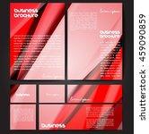 corporate identity template set.... | Shutterstock .eps vector #459090859