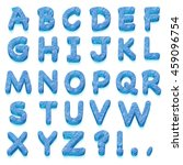 all letters from the alphabet... | Shutterstock . vector #459096754