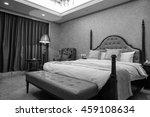 hotel room interior. | Shutterstock . vector #459108634
