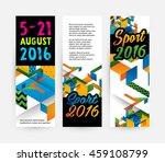 summer sport 2016  design for... | Shutterstock .eps vector #459108799