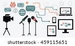 vector illustration of process... | Shutterstock .eps vector #459115651