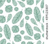 seamless pattern with hand... | Shutterstock .eps vector #459123307