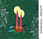 christmas motif - stock photo