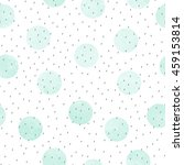 vector seamless pattern of mint ... | Shutterstock .eps vector #459153814