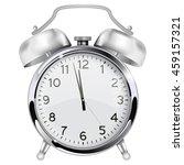 alarm clock. retro vintage... | Shutterstock . vector #459157321