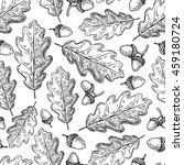 seamless vector pattern with... | Shutterstock .eps vector #459180724