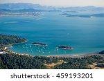 langkawi landscape with islands ... | Shutterstock . vector #459193201