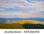Stock photo beautiful summer landscape in the mountains sunrise carpathians ukraine europe 459206545