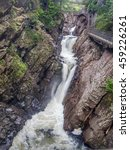 Small photo of High Falls Gorge in Adirondack Mountains