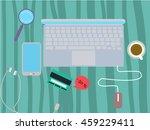 credit card concept   Shutterstock .eps vector #459229411