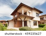 new suburban houses. perfect... | Shutterstock . vector #459235627