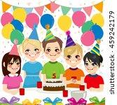 cute children having fun on...   Shutterstock .eps vector #459242179