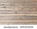 horizontal wooden planks deck...   Shutterstock . vector #459253354