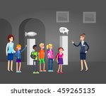 funny character people in... | Shutterstock .eps vector #459265135