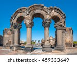 the ruins of the ancient temple ... | Shutterstock . vector #459333649