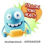 3d rendering. candy gift... | Shutterstock . vector #459344539