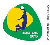 basketball icon  vector... | Shutterstock .eps vector #459345109