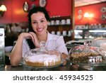 owner of a small business store ... | Shutterstock . vector #45934525