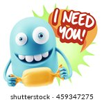 3d rendering. candy gift... | Shutterstock . vector #459347275