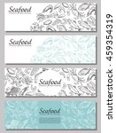 vector booklet with sketches of ... | Shutterstock .eps vector #459354319
