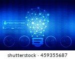 bulb future technology ... | Shutterstock . vector #459355687