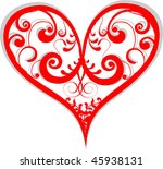 heart illustration | Shutterstock .eps vector #45938131