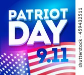 patriot day blue poster... | Shutterstock .eps vector #459432511