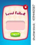 level failed mobile game...